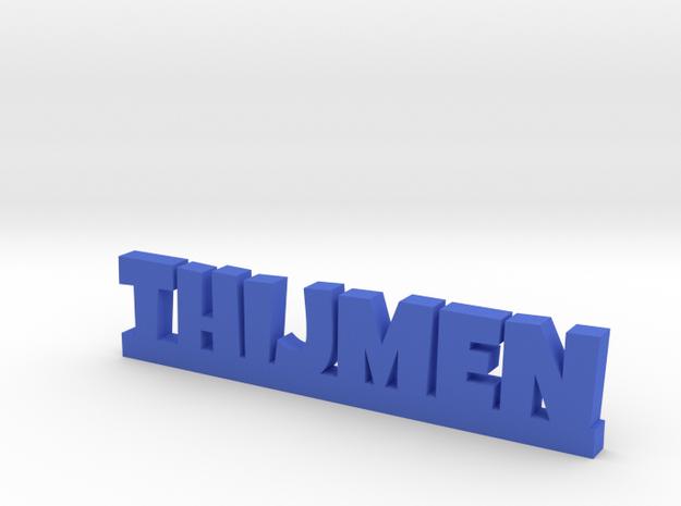 THIJMEN Lucky in Blue Processed Versatile Plastic