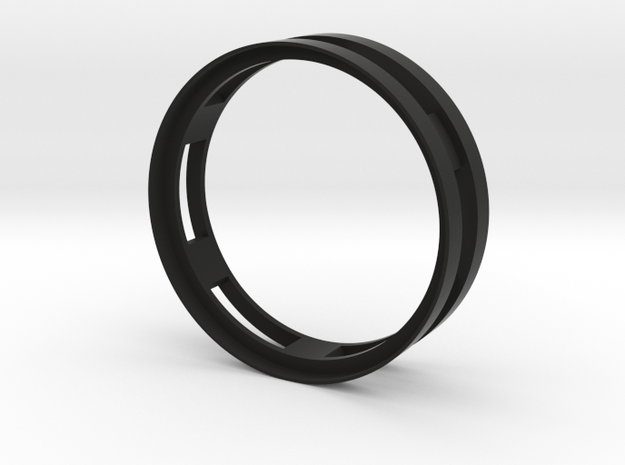 "Beadlock 0.7"" in Black Natural Versatile Plastic"