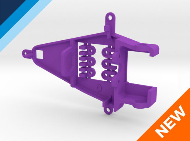 Small Can 0.0mm Offset IL - NSR compatible pod in Purple Strong & Flexible Polished