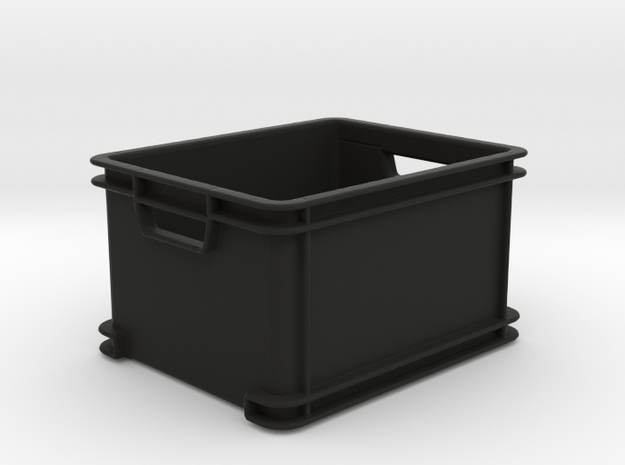 Box Type 8 - 1/10 in Black Natural Versatile Plastic