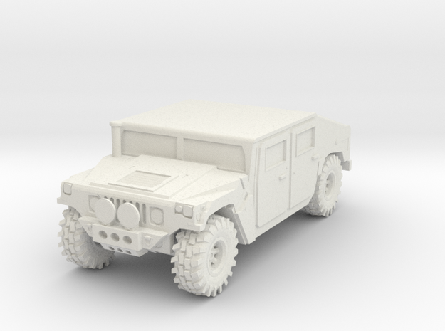 Hummer 1:12scale in White Strong & Flexible