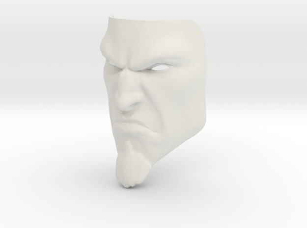 Kratos MASK in White Natural Versatile Plastic