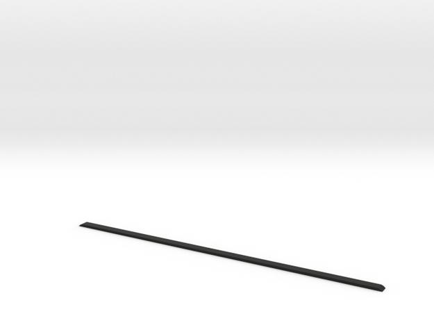 Roof ledge D110 Gelande 1:18 in Black Natural Versatile Plastic