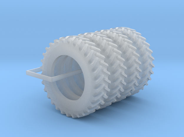 1/64 Scale 18.4R42 Tires Qty: 4