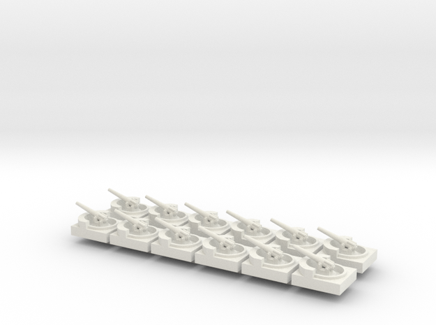 Coastal Battery X12 in White Strong & Flexible