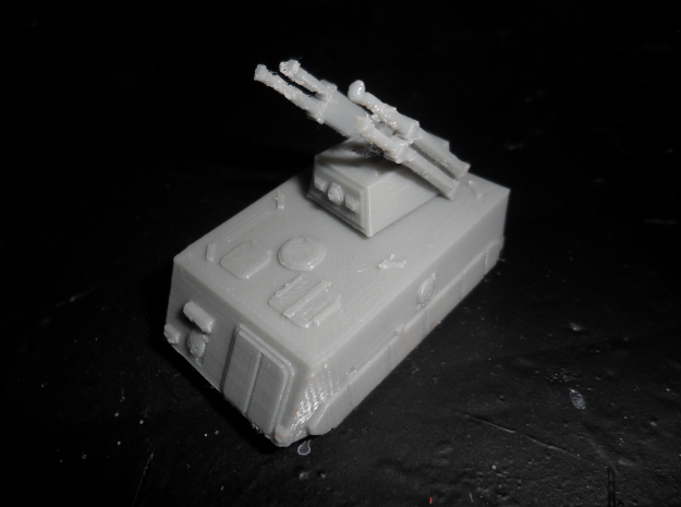 MG144-Aotrs13B Vampire Lord in White Natural Versatile Plastic