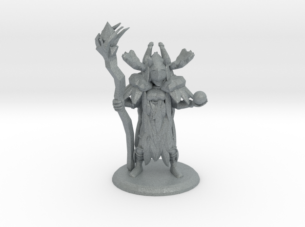 THE GRAND DRYAD in Polished Metallic Plastic