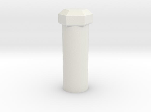 Kill Key 4 GEM in White Natural Versatile Plastic