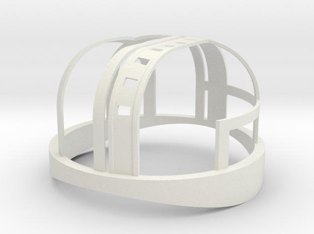 HDL 151 Turret Frame 1:10 in White Natural Versatile Plastic