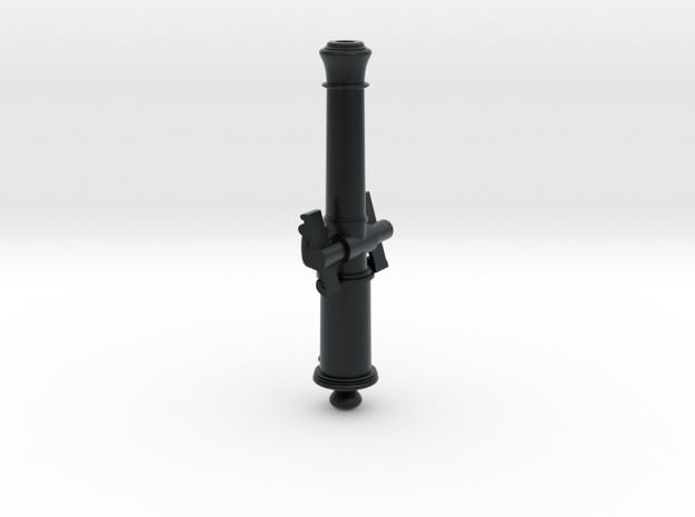 Bavarian Manson 6pdr Gun Barrel in Black Hi-Def Acrylate