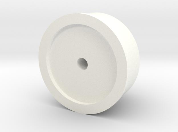 Snorkel air intake cap big D90 Gelande 1:10 in White Processed Versatile Plastic