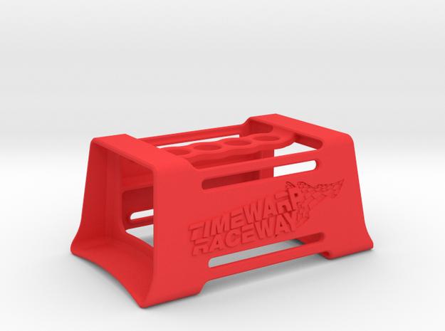 Timewarp RC Raceway Work Stand in Red Processed Versatile Plastic