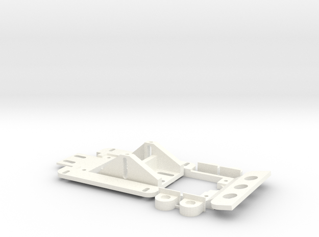 1/32 Chassis - '71 Nissan Skyline  in White Strong & Flexible Polished