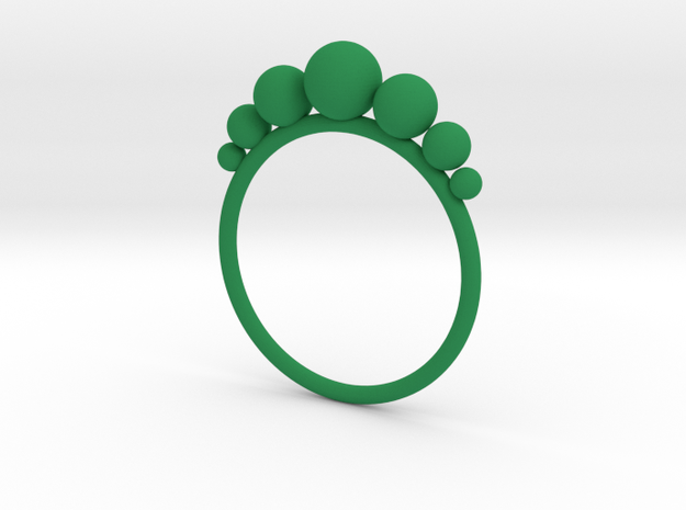Anello Pallini in Green Processed Versatile Plastic