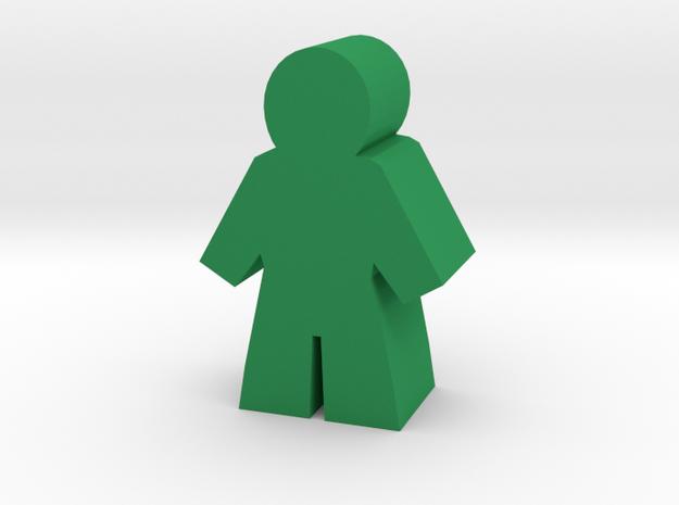 Game Piece, Citizen, Man in Green Processed Versatile Plastic