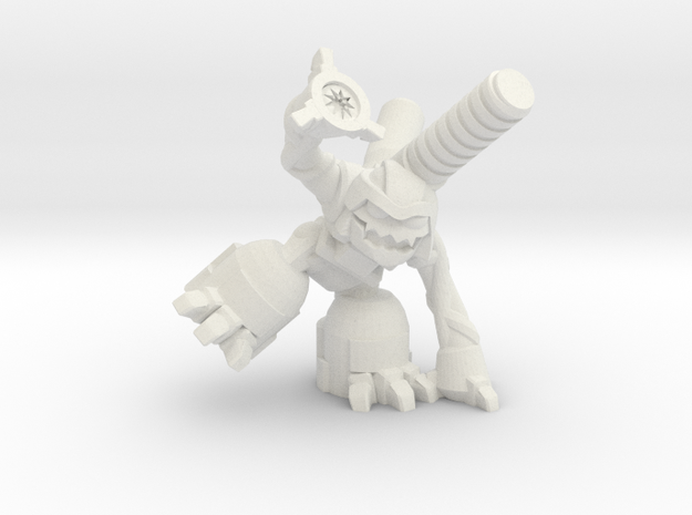 Augernaut (MOGITE) in White Strong & Flexible