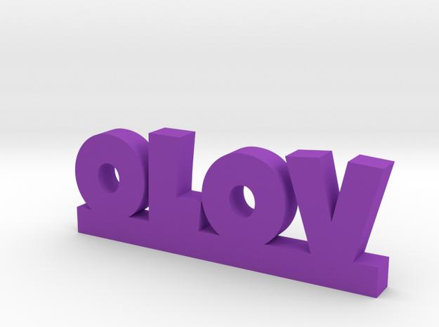 OLOV Lucky in Purple Processed Versatile Plastic