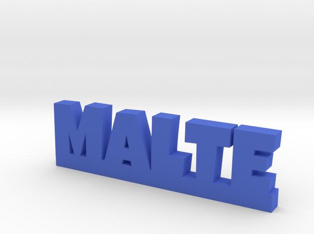 MALTE Lucky in Blue Processed Versatile Plastic