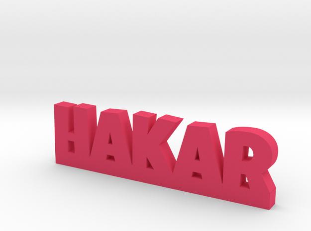 HAKAR Lucky in Pink Processed Versatile Plastic