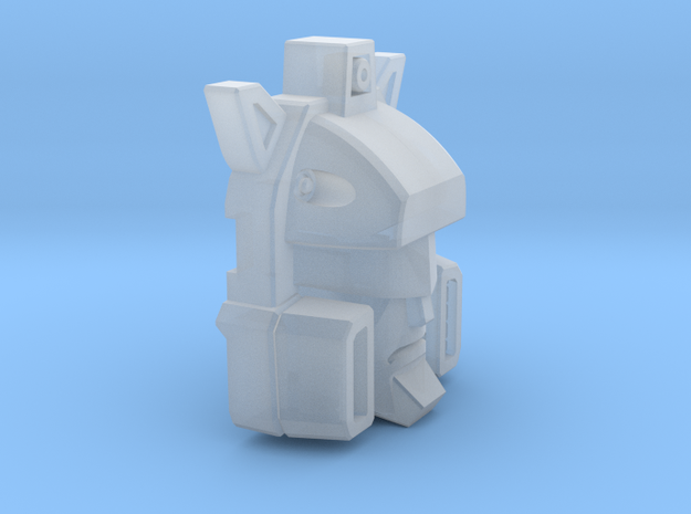 Rapid Fire Attacker's Face in Smooth Fine Detail Plastic