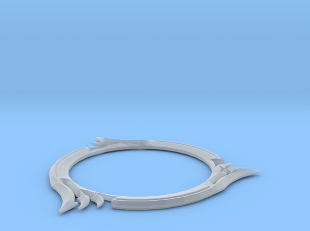 Ring Blade Final in Smooth Fine Detail Plastic