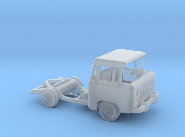 1959 FC150 Chassis and Cab in Smooth Fine Detail Plastic: 1:160 - N