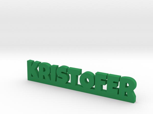 KRISTOFER Lucky in Green Processed Versatile Plastic