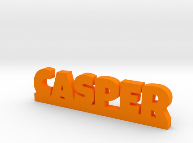 CASPER Lucky in Orange Processed Versatile Plastic