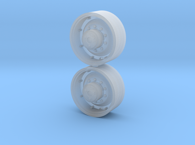 1/64 Scale 30 Inch FWA Wheel in Smooth Fine Detail Plastic
