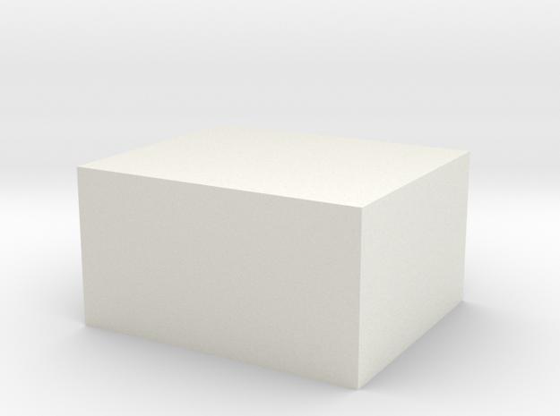 Maximum Sized Nylon Block in White Strong & Flexible