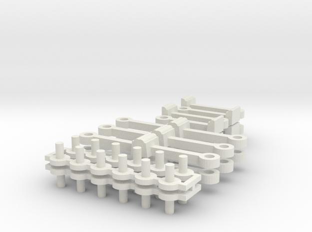 Schaku Kupplung für N1 und n2 in White Natural Versatile Plastic