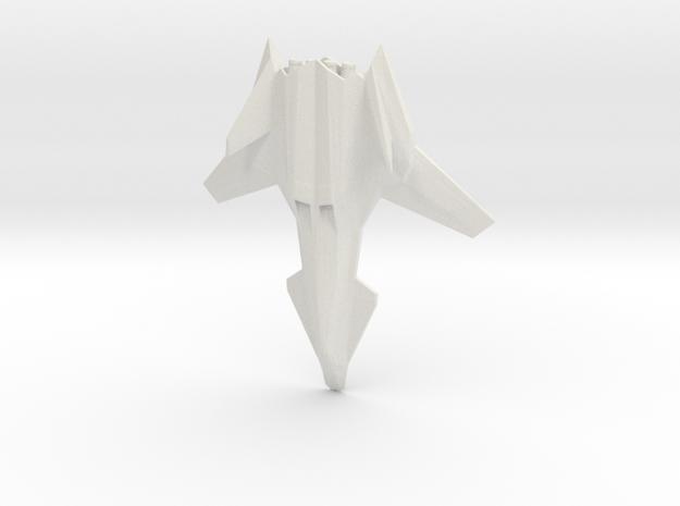 Talon Jet Fighter in White Strong & Flexible