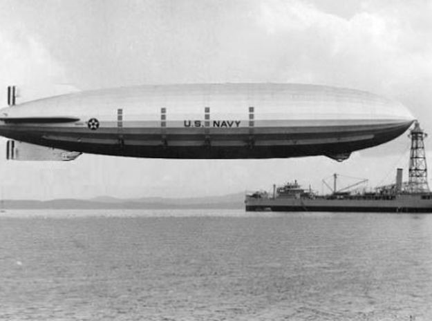 USS Akron 1/700th  scale