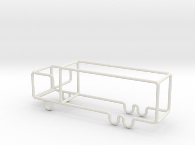 Transporter scale 1-100 in White Natural Versatile Plastic: 1:100