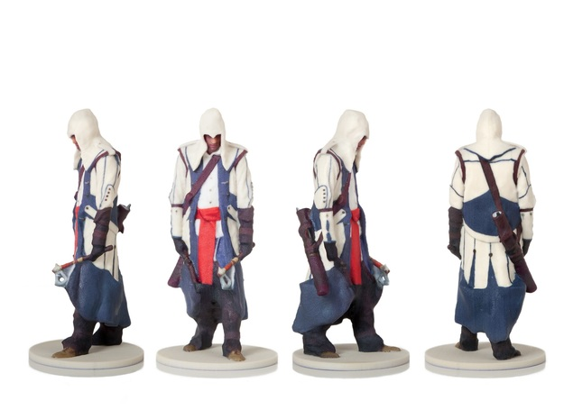 Assassin's Creed Figurine in Full Color Sandstone