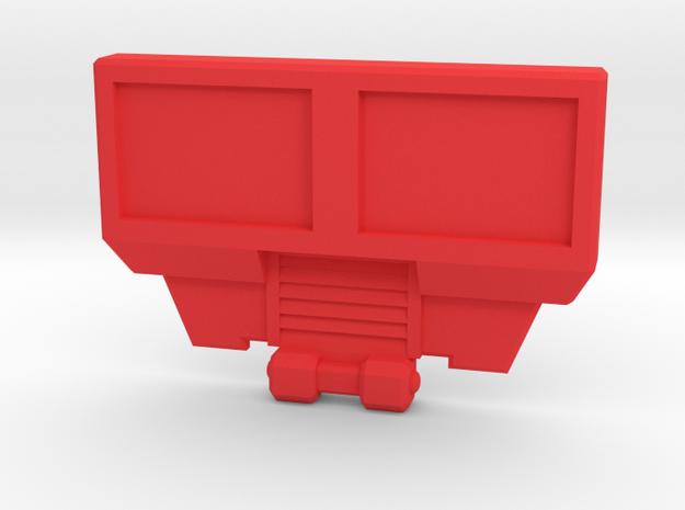 BorstPlaat 2245 in Red Processed Versatile Plastic
