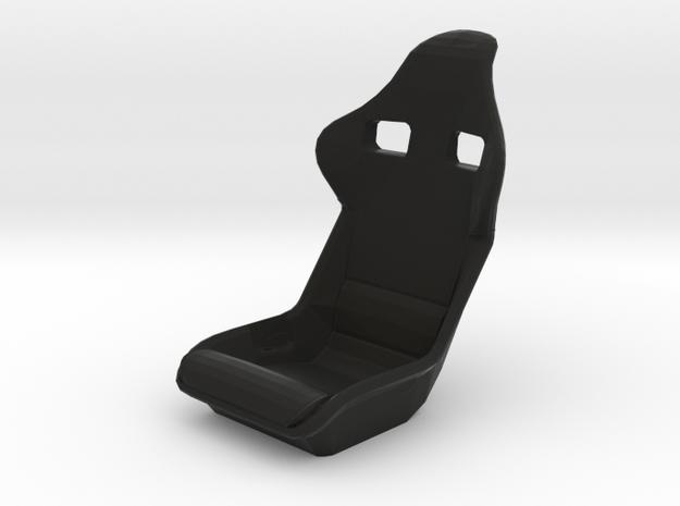 Race Seat F40-Type - 1/10 in Black Natural Versatile Plastic