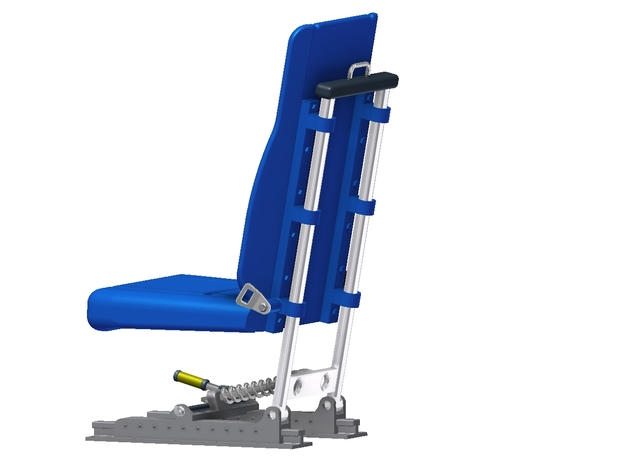 Bell 430 Seat (to suit Vario 1:6 Model) 3d printed