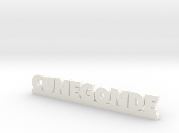 CUNEGONDE Lucky in White Strong & Flexible Polished