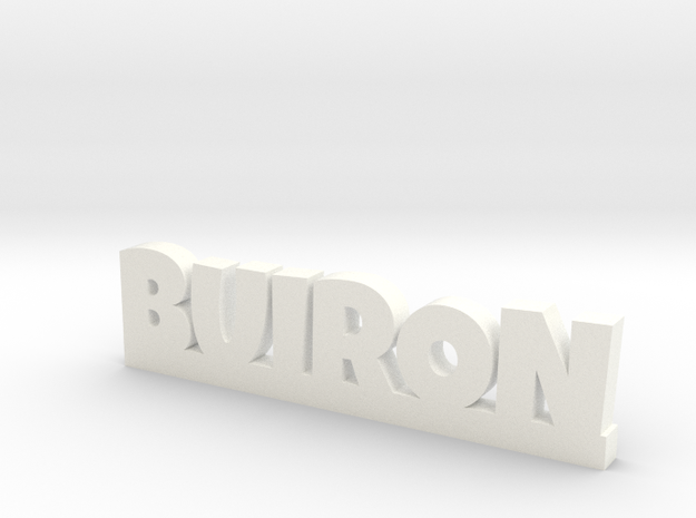 BUIRON Lucky in White Strong & Flexible Polished