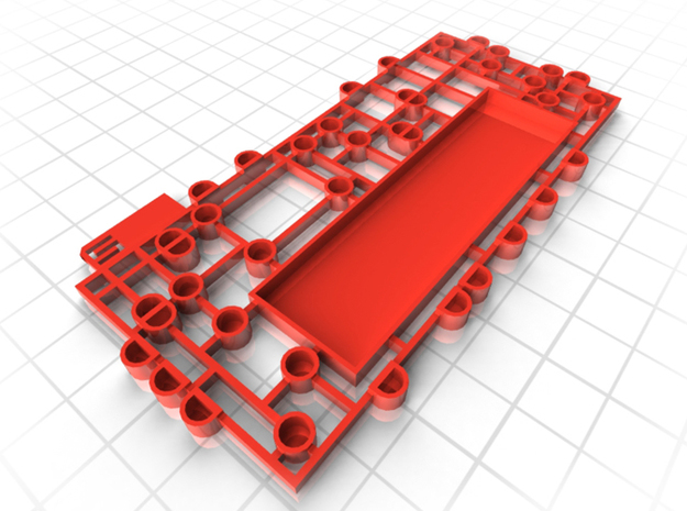 IPHONE 5 SCREW ORGANISER 3d printed