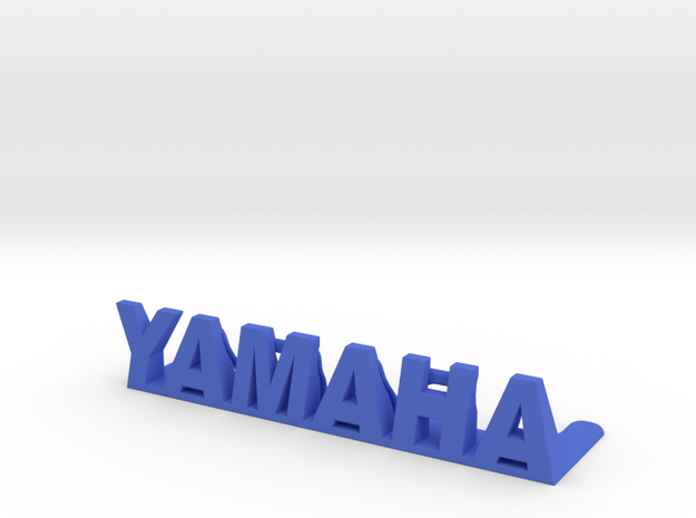 Yamaha Desktop Frame-less Picture Holder in Blue Processed Versatile Plastic