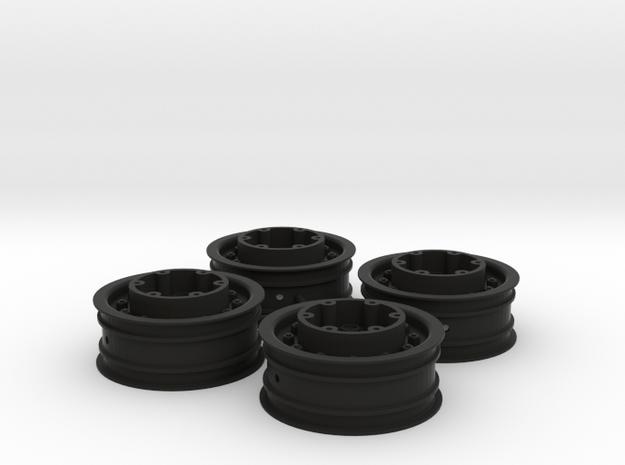 3382 - Tribute 2.2 MT Tote Wheel, 4pc. in Black Natural Versatile Plastic