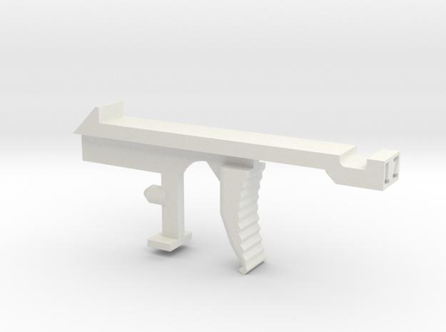 Retaliator/Recon Trigger upgrade in White Natural Versatile Plastic
