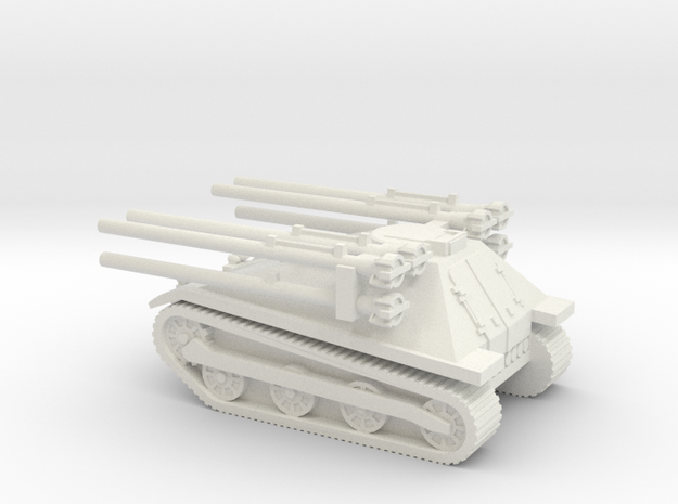 1/87 Ontos in White Strong & Flexible
