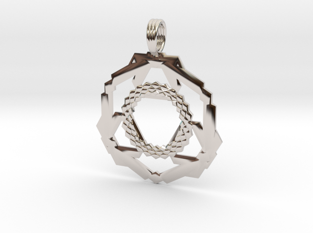 CHAKRA SPAWN in Rhodium Plated