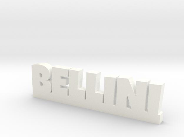 BELLINI Lucky in White Processed Versatile Plastic