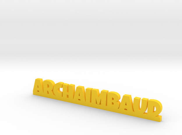 ARCHAIMBAUD Lucky in Yellow Strong & Flexible Polished
