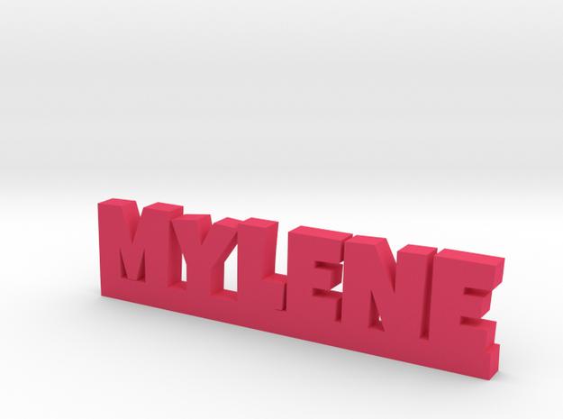 MYLENE Lucky in Pink Processed Versatile Plastic