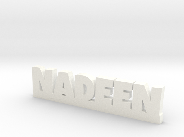 NADEEN Lucky in White Processed Versatile Plastic